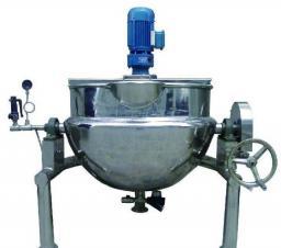 Кондитерское оборудование/Нагреватель с тепловой рубашкой, для растворения сахара и карамелизирования смеси. Стоимость: 1370 долларов
