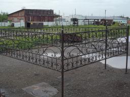 Оградки для могил кованые