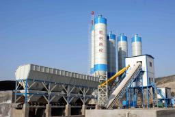 Бетонный завод HZS75 новый из Китая