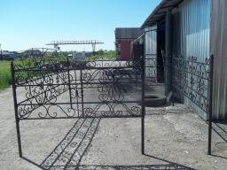 оградки кованые для могил