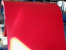 Рулонная сталь с полимерным покрытием
