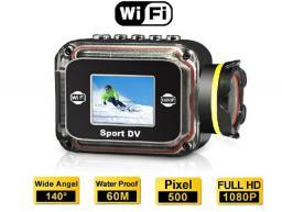 Outdoor sports DV waterproof DV HD 1080P mini DV built in WiFi