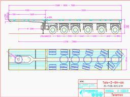 Трал,100 т. Перевозка крупногабаритных, крупных, негабаритных и др.грузов - низкорамными тралами(платформами).