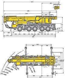 Аренда крана 130 тонн (Казахстан,Россия,страны СНГ)