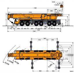 Аренда крана 250 тонн (Казахстан,Россия,страны СНГ)