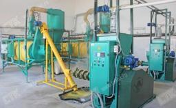 Линия по производству экструдированной сои YQG-1400
