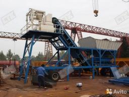 Мобильный бетонный завод YHZS 40