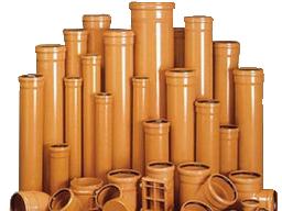 Трубы канализационные ПВХ 110, 160, 200, 250, 315