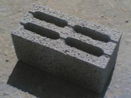 Блоки керамзитобетонные М 75
