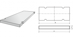 Производство дорожных и аэродромных плит