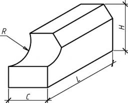 Блоки для фундаментов