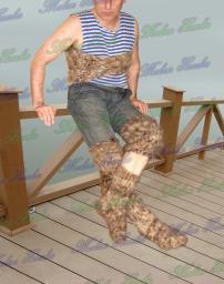 Люмбаго .ОРЗ.Ангина.. Целебный комплект - пояс ,носки ,наколенники