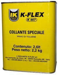 Клей K-FLEX K 467 (зимний) 2,6 литра