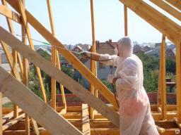 Огнезащита деревянных конструкций,пропитка,Биозащита