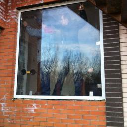 Окно противопожарное алюминиевое E-30