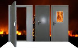Дверь противопожарная металлическая ДПМ-01/EI-60