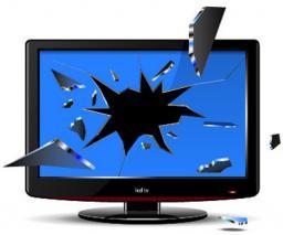 Ремонт телевизоров.Замена матриц (экранов)
