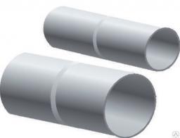 Муфта соединительная для трубы белая(Водостоки пластиковые