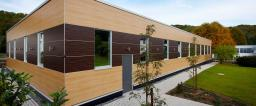 Фасады Hpl, пластик архитектурный RESOPLAN-F, фасадные панели Hpl