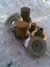 Ковер газовый стальной большой диаметр 325