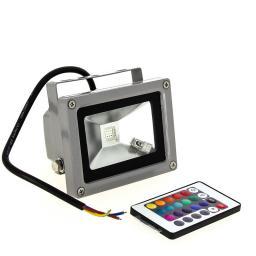 Прожектор светодиодный RGB 10 ватт