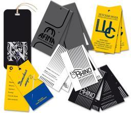 Печать бумажных и картонных этикеток, бирок и ярлыков