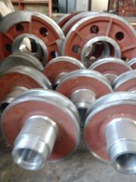 Ролики канатные,запасные части для упа 60а-50м,упа 60/80,мбк 125