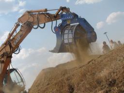 Роторный просеивающий ковш (сортировщик) TreviBenne BVR, Italdem (Италия)