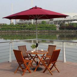 Комплект для отдыха,Наружный деревянный стол и стул / садовый деревянный стол и стул / набор надворных стола и стульев 6501, 2920204