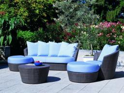 Комплект для отдыха,Садовый диван / наружный диван / наружная мебель / набор в 5 предметов 9070, 2920207