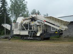 Конусная дробильная установка TEREX Finlay C-1540