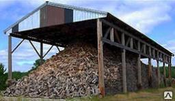 Березовые дрова колотые от 2 - х куб.м.
