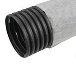 Труба дренажная с перфорацией в фильтре Typar d160 мм