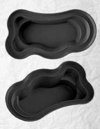 Декоративный садовый пруд 4200 черный