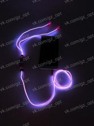 Светящиеся наушники Light EarPhone (копия Power4) - доступны 3 вида!
