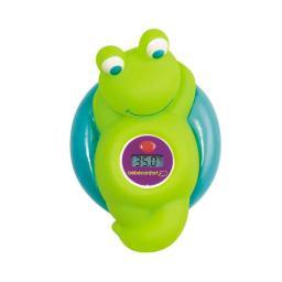 """Электронный термометр Bebe Confort для измерения температуры воды в ванной """"Лягушонок"""" Зеленый/Голубой Bebe Confort"""
