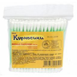 Ватные палочки Курносики 100 шт. (пакет) Курносики