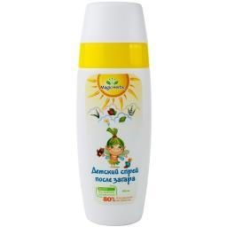 Солнечная серия Magic Herbs Спрей детский успокаивающий после загара 140 мл. Magic Herbs