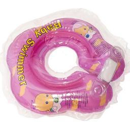 Круг на шею Baby Swimmer с 0 мес. (6-36 кг.) Розовый Baby Swimmer