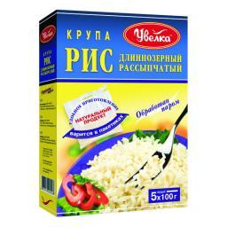 Крупа Увелка 500 гр. Рис (пропаренный) Увелка