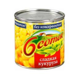 Кукуруза Шесть Соток 420 гр. Шесть соток