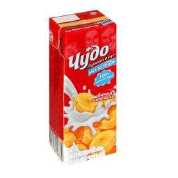 Коктейль молочный Чудо 200 гр. Банан-карамель Чудо