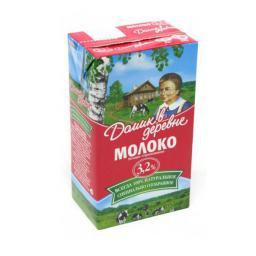 Молоко Домик в деревне ультрапастеризованное 950 гр. 3.2% Домик в деревне