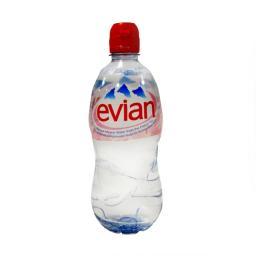 Негазированная минеральная вода Evian Эвиан 0,75 л. (пластик) Evian