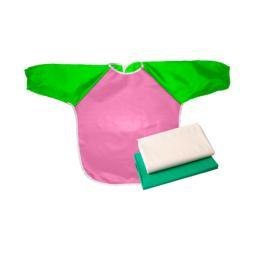Набор для труда Витоша (клеенка для труда+фартук+клеенка в подарок) Розовый фартук Витоша