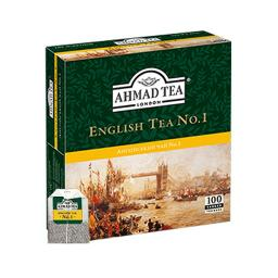 Чай Ахмад №1 100 пак. № 1 (с ярлычком) Ahmad