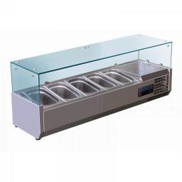 Витрина холодильная настольная барная Convito RT 1200 L
