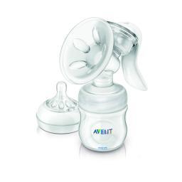 Молокоотсос Philips Avent ручной SCF330/20 в комплекте бутылочка Natural 125 мл Philips Avent
