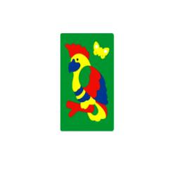 """Мозаика Флексика """"Попугай"""" Флексика"""