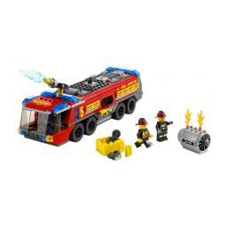 Конструктор LEGO City Пожарная машина для аэропорта LEGO